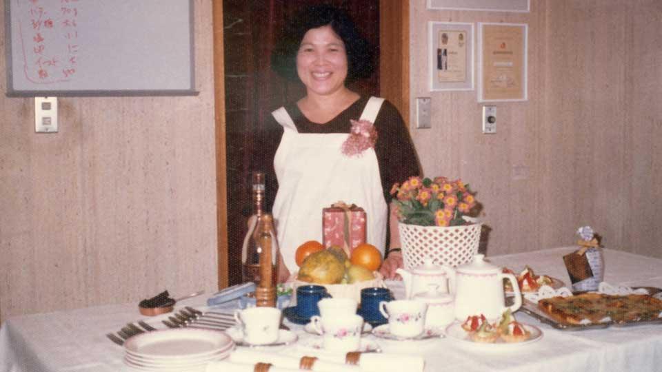 佐藤淳子と料理