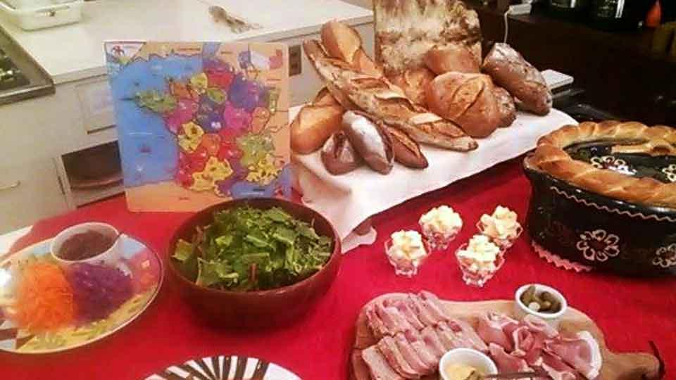パンのある食卓コース料理の一例3