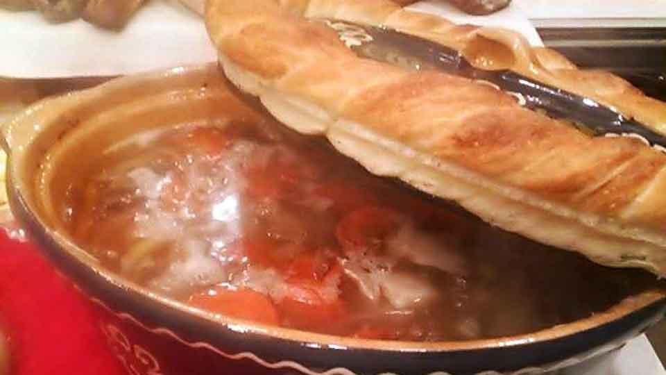パンのある食卓コース料理の一例2